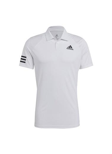 adidas adidas GL5416 CLUB 3STR POLO Erkek PoloT-Shirt Beyaz